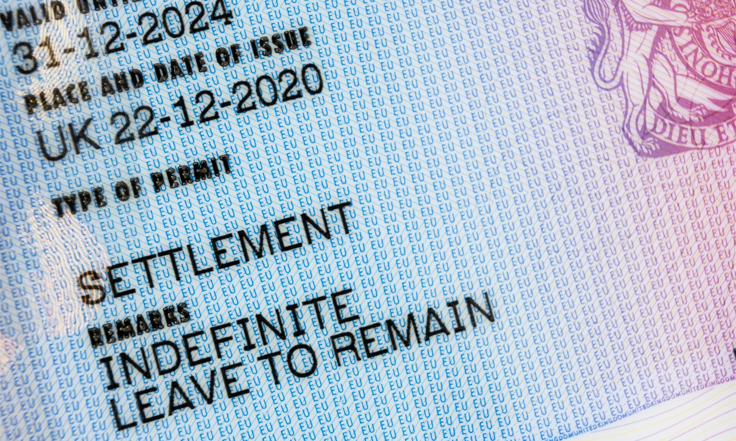 The requirements for settlement (Indefinite Leave to Remain) in the UK as a representative of an overseas business