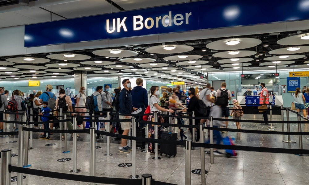 Which nationalities can get an Electronic Visa Waiver (EVW) for the UK